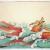 "justin gibbens: ""Pacific Mermen"", watercolor, gouache, ink on paper, 2012, 26"" x 40"""